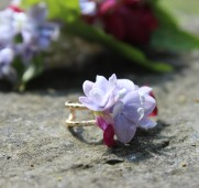 Flower couture - flower ring for small bridesmaid